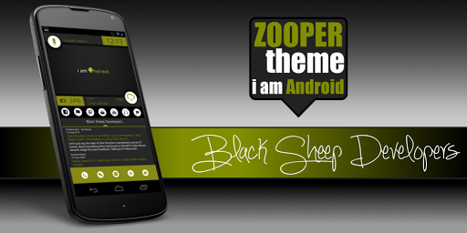 i am Android ZOOPER SKIN