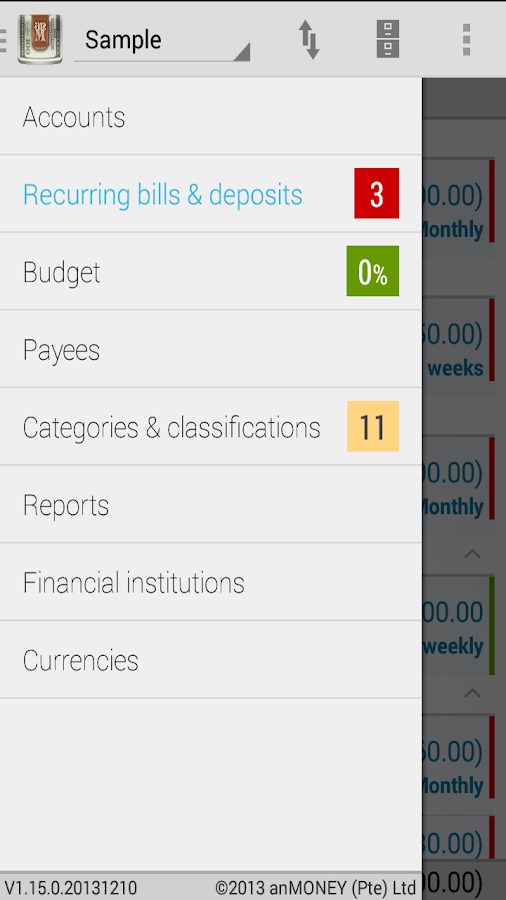anMoney Budget & Finance PRO - screenshot