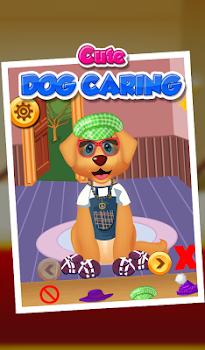 Cute Dog Caring - Kids Game