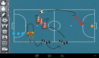 Screenshot of BeTactical Sport Board