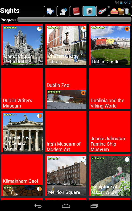 Dublin Guide- screenshot