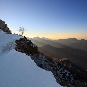 Blades on Alpi Apuane by Ricky Papex - Landscapes Mountains & Hills ( canon, tuscany, blades, razor, sunrise, 17-40, apuane, italy, l series, #GARYFONGDRAMATICLIGHT, #WTFBOBDAVIS )