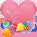 Pink Romantic cute Wallpaper icon