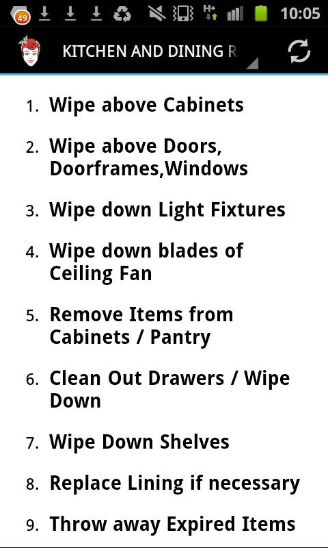 Spring Cleaning Checklist spring cleaning checklist - android apps on google play