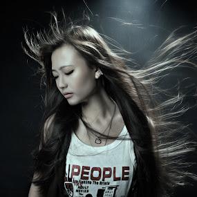 fly by Tim Kek - People Fashion ( gril, fashion, model, women, pretty, portrait )