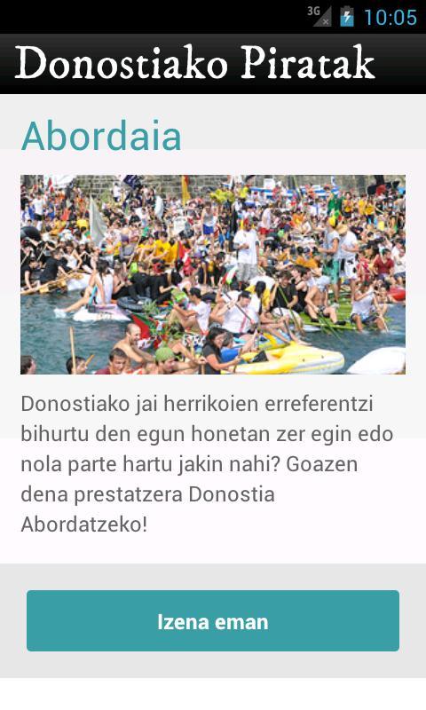 Donostiako Piratak 2012 - screenshot