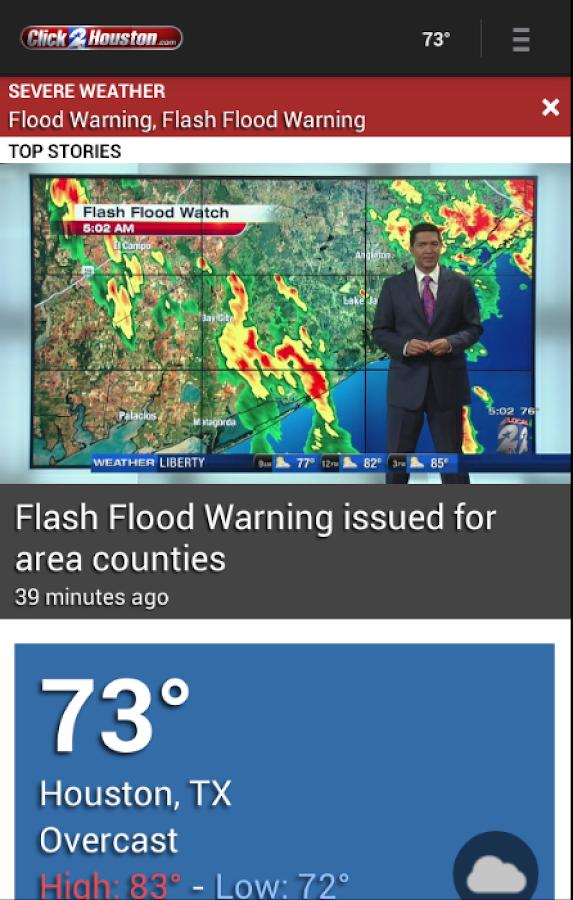 Click2Houston KPRC 2 - screenshot