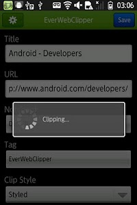 EverWebClipper for Evernote screenshot 1