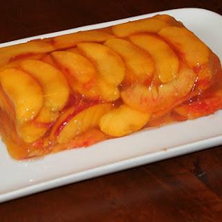 Peaches and Cava Terrine.