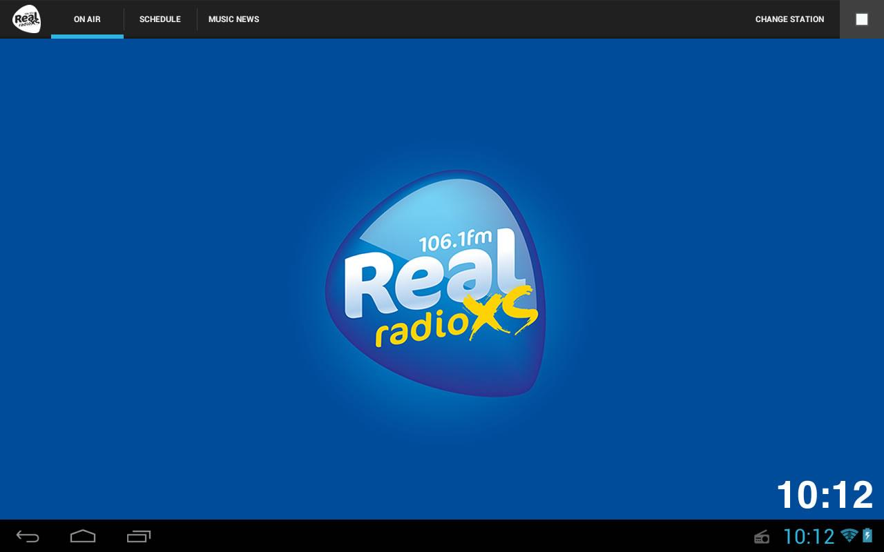 Real Radio XS - screenshot