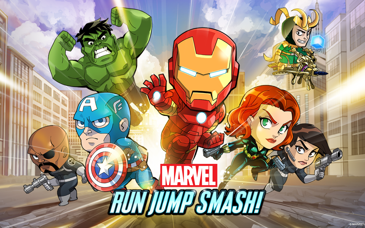 Marvel Run Jump Smash! - screenshot