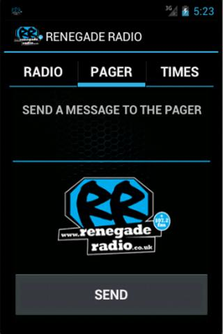 Renegade Radio- screenshot