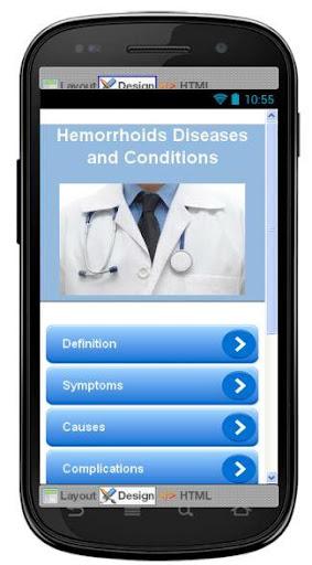 Hemorrhoids Disease Symptoms