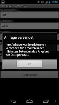 SMS Ticket für ÖBB Züge