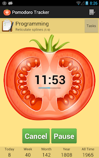 Pomodoro Tracker - screenshot thumbnail