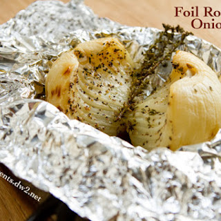 Foil Roasted Caramelized Onions
