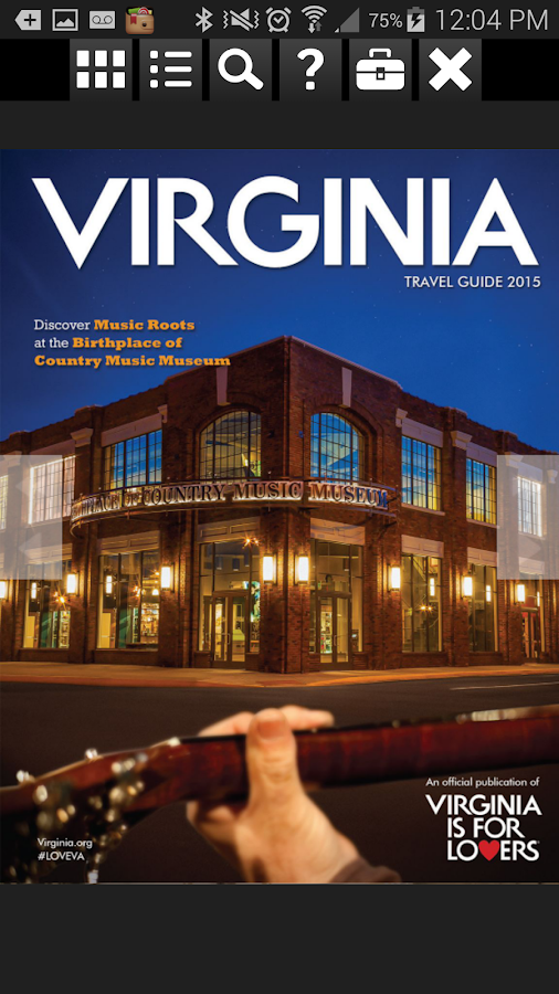 Virginia Travel Guide- screenshot