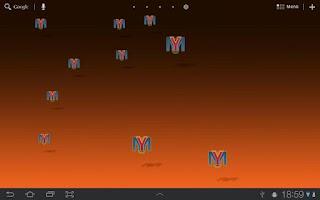 Screenshot of MyLiveWallpaper GLES2