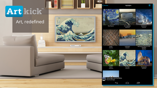 Artkick: Art for Free on TV - screenshot thumbnail