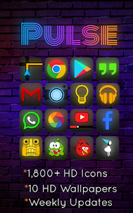 Pulse - Icon Pack - screenshot