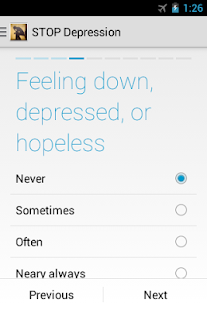 STOP Depression- screenshot thumbnail