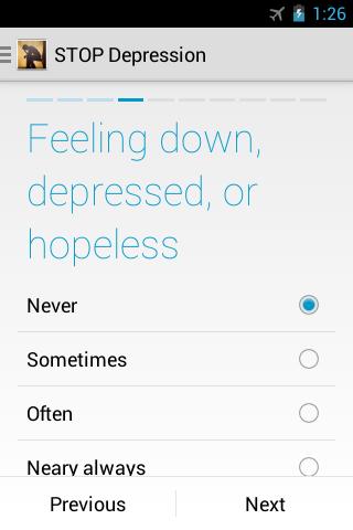 STOP Depression - screenshot