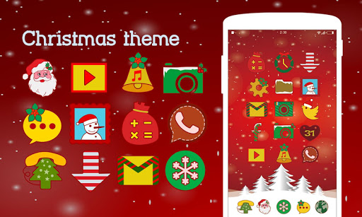 Christmas Theme - KK Launcher