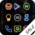 Neon (Go Apex Nova) Icon Theme APK Cracked Download