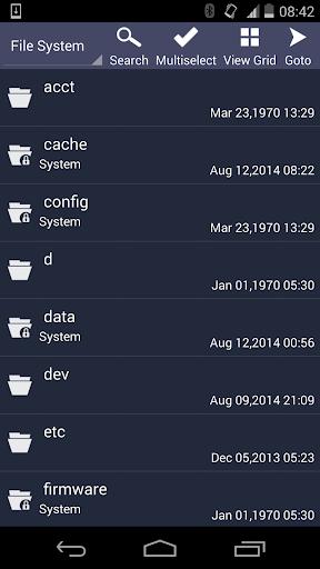 File Manager - Explorer