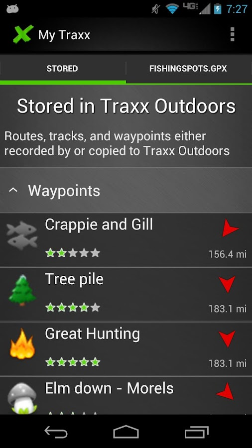 Traxx Outdoors FREE- screenshot