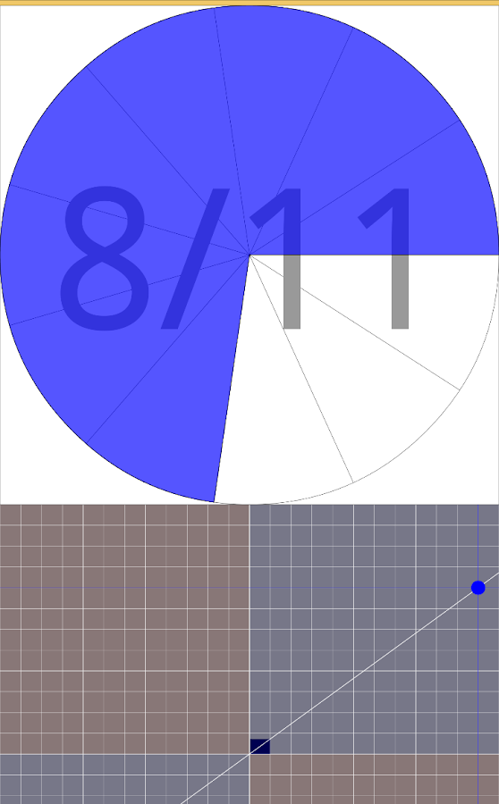 Touch Fraction ℚ- screenshot