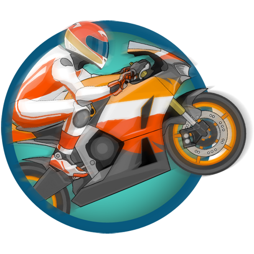 赛车:超级摩托车 賽車遊戲 LOGO-玩APPs