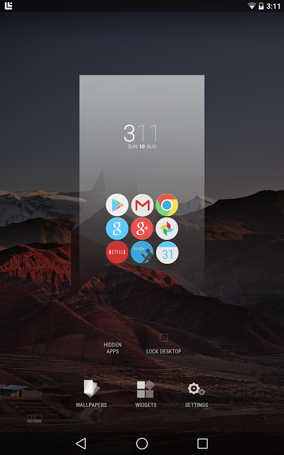 Blur - A Launcher Replacement - screenshot