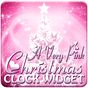PINK Christmas Clock Widget 個人化 App LOGO-APP試玩