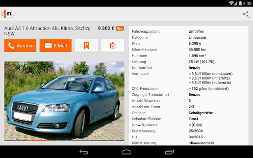 mobile.de – vehicle market Screenshot 36