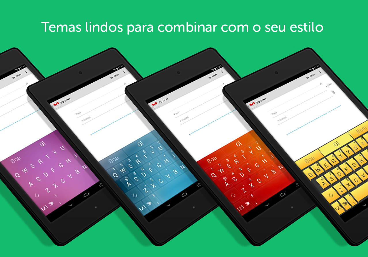 Teclado SwiftKey + Emoji - screenshot