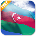 3D Azerbaijan Flag LWP icon