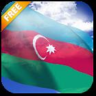 3D Azerbaijan Flag Live Wallpaper icon