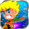 AquaDude-Best underwater game icon