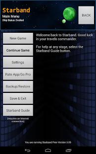 Starband Space Trading Game - screenshot thumbnail