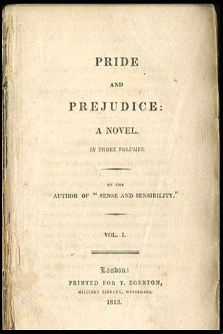 Pride and Prejudice - screenshot