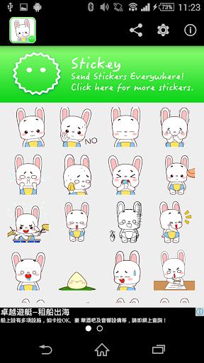 Stickey Rabbit Baby