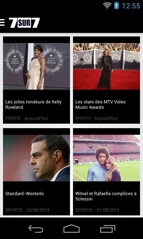 7sur7.be Mobile - screenshot
