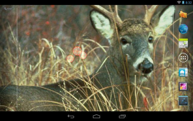 Deer Hunting Live Wallpaper ★- screenshot