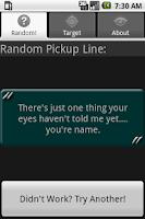 Screenshot of Pickup Lines Pro