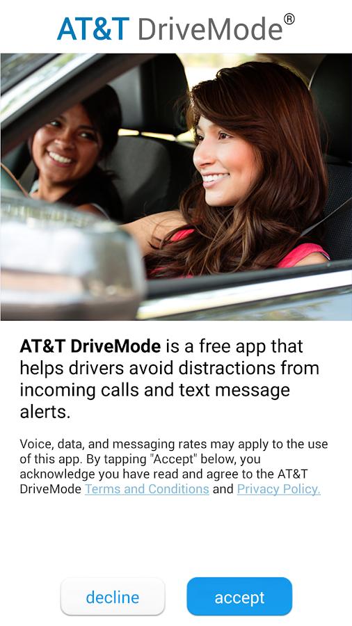 AT&T DriveMode - screenshot