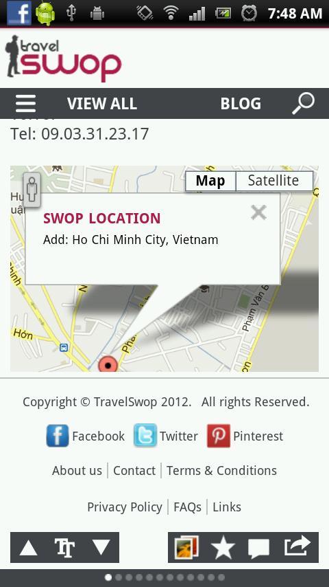 Travel Swop- screenshot