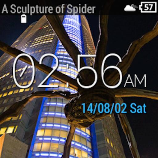Wear Location Watch Face - screenshot