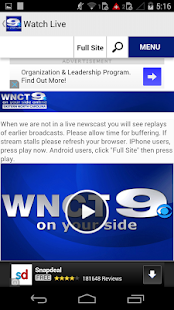 WNCT - screenshot thumbnail