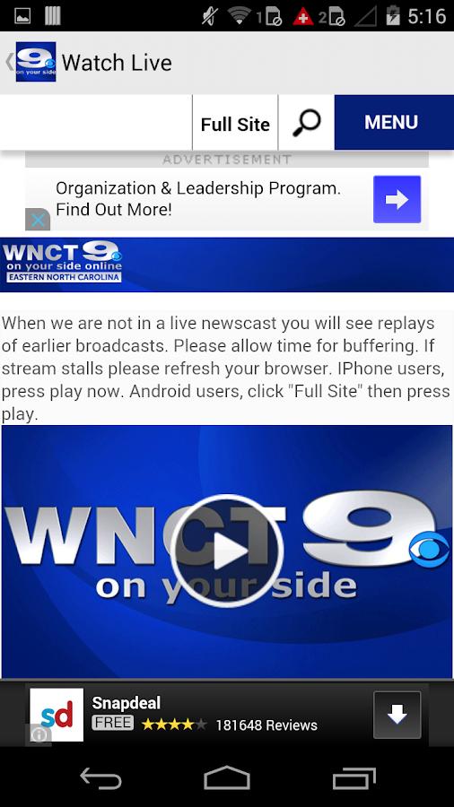 WNCT- screenshot